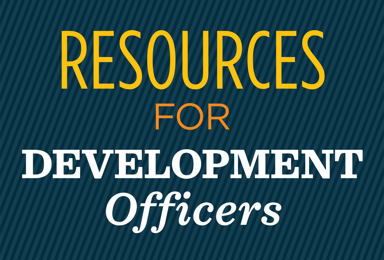 Resources for Development Officers